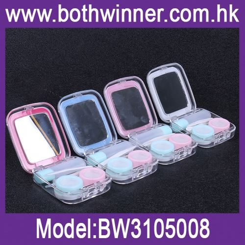 Anime contact lens case ,h0t282 rhinestone contact lens case for sale