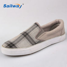 2014 Mens Sneakers Check Upper Rubber Sole USA