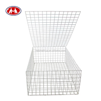 cheap pvc coated/galvanized gabion box/gabion stone cage box
