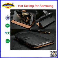 Hot Selling Wallet Case for Samsung Galaxy S4 S5 S3 Note 3 Phone Case