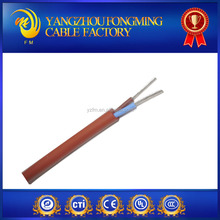 tinnned copper and silicone rubber multi-cores silicone cable