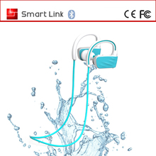 best price sweat proof noise cancalling sport with flash Swimming IPX7 waterproof bluetooth heaset