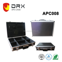 Hot Sale Acrylic accessories Show box Aluminum Carrying tool Cases