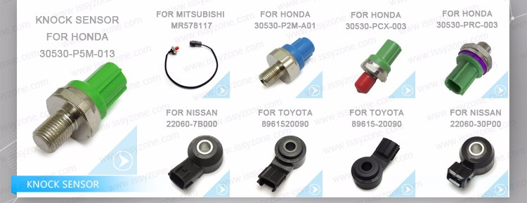 Hot sales engine knock sensor For HONDA 30530-PRC-003 IKSHD003