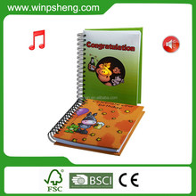 A4 Size Spiral Music Notebooks With 80 White Blank Pages