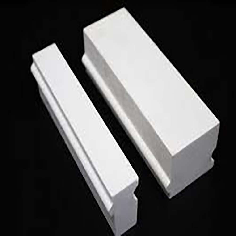 low price alumina bubble/hollow insulating brick glass brick