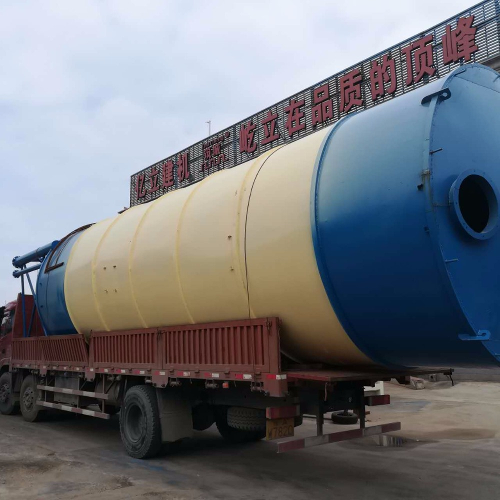 Strong Foundation Galvanized Steel Bolted 1000 Ton 500 Ton Cement Silo For Sale