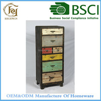 Fir Wooden Network Cabinet for dinning room