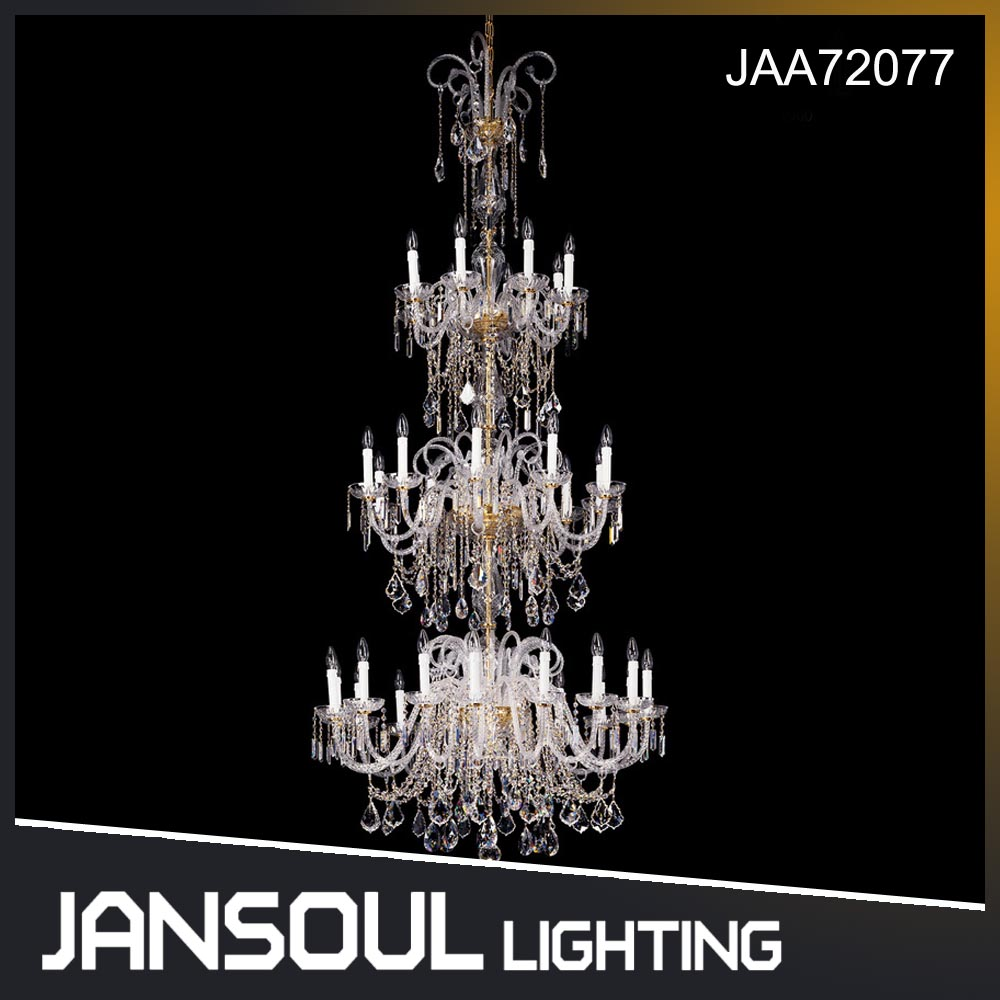 JANSOUL high ceiling egyptian led crystal chandelier lighting for hotel lobby