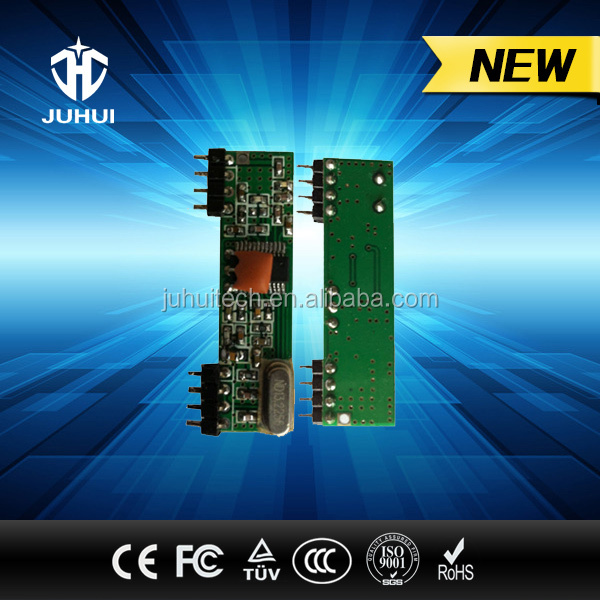 315-433mhz Wireless RF ASK Transmitter and Receiver Module