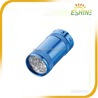 6 Led Mini Torch Flashlight Metal Aluminum Small Sun Flashlight