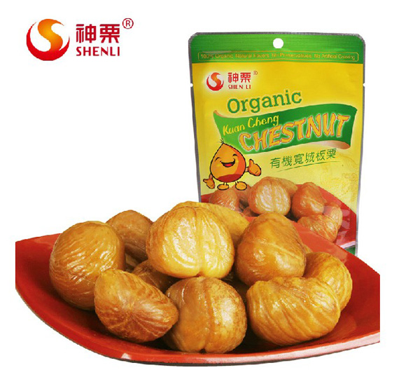 Ready to eat organic chestnuts wholesale snacks
