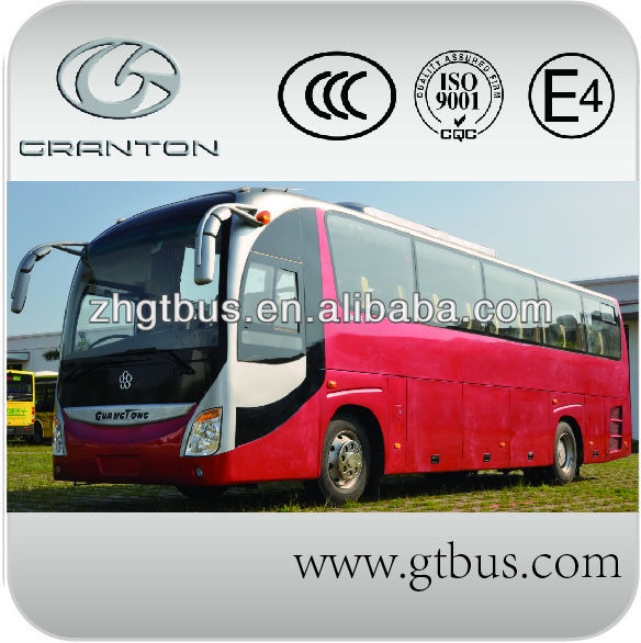 China new energy LNG bus with dongfeng chassis