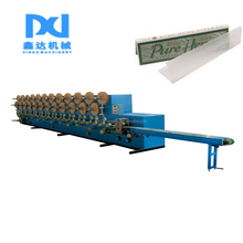 Automatic gluing cigarette tissue slitting folding cigarette paper making machine price