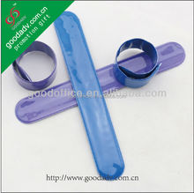 2014 good quality fashional eco-friendly customised personal slap wrist band