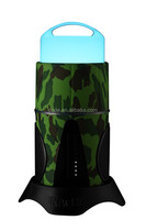 Bluetooth speaker with LED light APP control IP44 Camouflage Housing