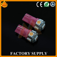 Cool shape super low price 5w 200 lumina 5 colors auto led 12v bulb