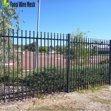 high quality beautiful square tube small iron fence for garden