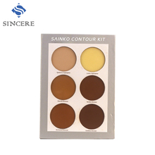 Professional makeup set 6 colors contour cream concealer palette