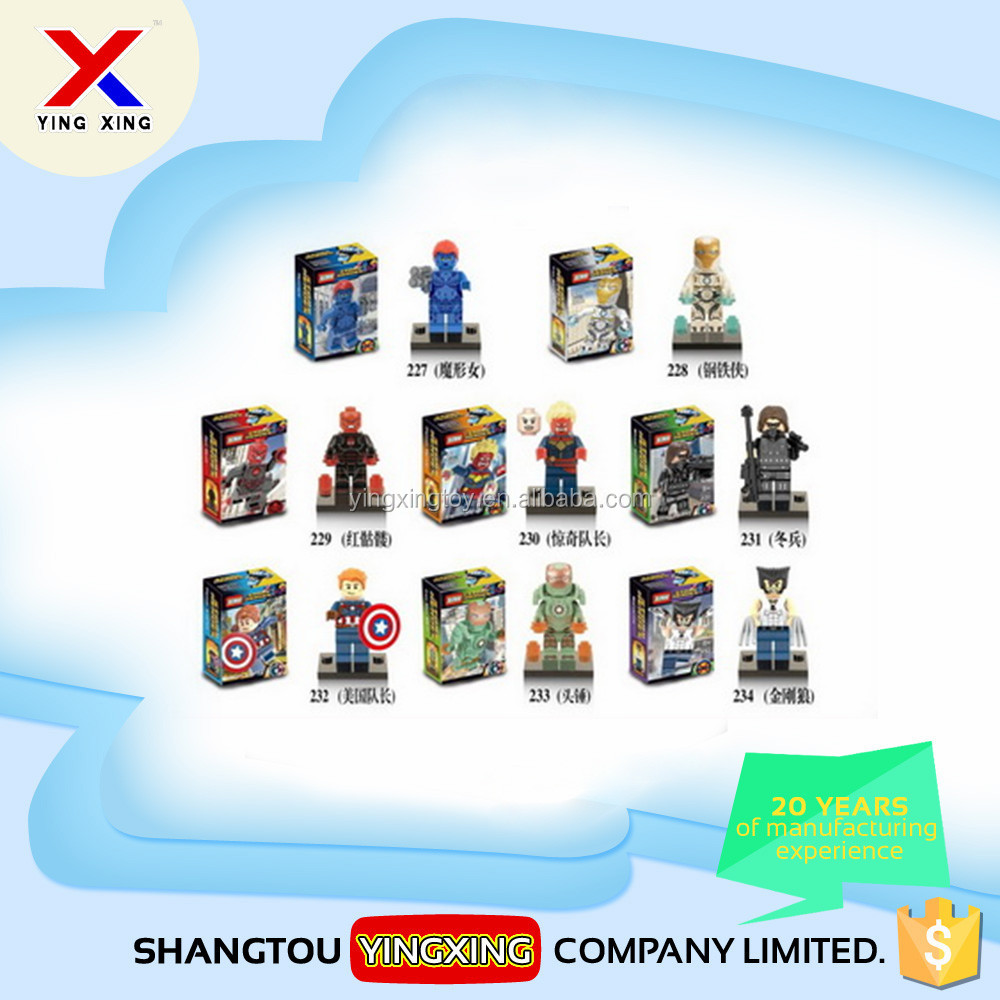 Kids plastic hot sale XINH brand mini figure block toy