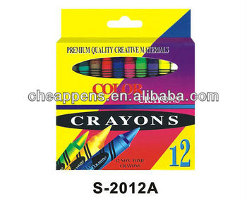 colored box packed crayon