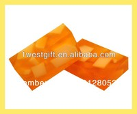 Sweet and sour orange soap,natural fruit soap (wzBL030)