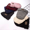 Promotion Ladies Knitted Winter Beaine Hat Type and 100% Acrylic Material hat