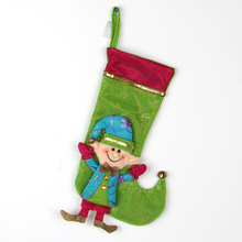 2017 christmas decoration supplies christmas elf stocking