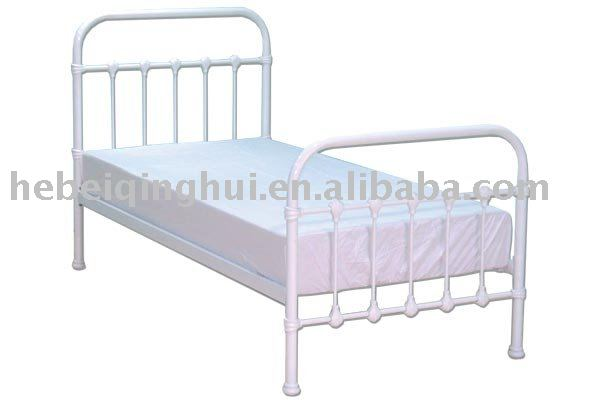 white single metal bed frame buy single bed framemetal bed framebed frame product on alibabacom - Single Metal Bed Frame
