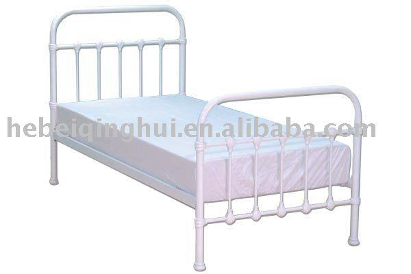 white single metal bed frame buy single bed framemetal bed framebed frame product on alibabacom - Single Bed Frame