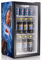 98 Litre transparent door display freezer