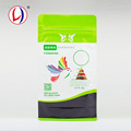 Eco Friendly Pet Bird Food Packaging Flat Bottom Zip Loc Bag With Top Quality