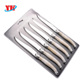 6 pcs laguiole steak knife sets produced in yangjiang professional factory
