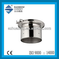 stainless steel double wall chimney hood chimney pipe fittings