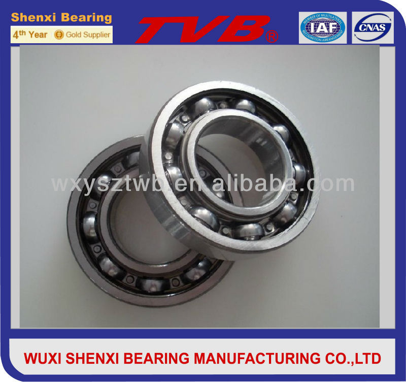 Drill Machinery Deep Groove Ball Bearing 6008 zz With two shields (-2Z) on both sides