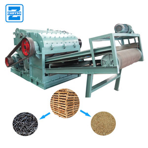 Widely Used Wood Crusher | Wood Pallet Crusher For Sale
