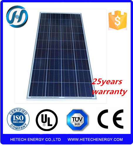 Usd Yingli solar cell Poly 140w bipv solar panel price