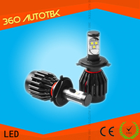 2016 latest super bright 4600lm 50w H1 H8 H11 H13 9005 9006 auto H7 led headlight bulb for car
