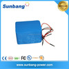 high quality customized 18650 battery li ion 24v 20ah with samsung 18650 battery cell