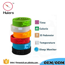 Multifunctional 3D USB bluetooth smart bracelet calorie pedometer