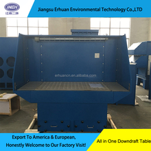 Industrial Downdraft Table dust collector for grinder with automatic dust cleaning system
