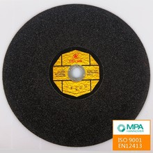 Stainless steel buffing cut off wheel resin bond cutting wheel