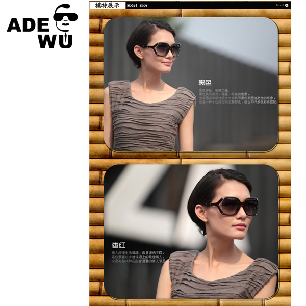 YWGX FDA CE UV400 Certification Carving Screw Spring Decoration women sunglasses polarized sell on line in stock