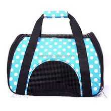 2017 high designed comfortable waterproof polyester pet dog bag for sleeping or travelling