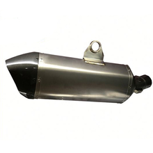 FCMUN182 51MM Universal Motorcycle Muffler Stainless Muffler With Carbon End Fit For R1200GS 2015