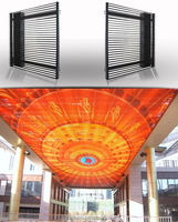 Light Weight, Perfect Performance sunrise outdoor curtain LED display P31.25