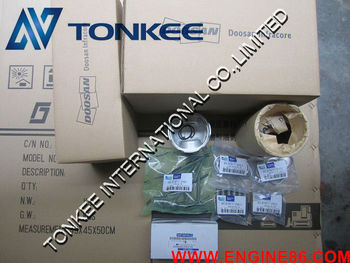 DOOSAN DB58T engine piston liner kit, DOOSAN DB58T liner kit ,liner kit