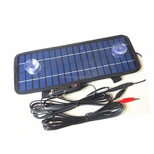 Good Quality Poly 12V 4.5W Portable Power Solar Panel Battery Charger for Car