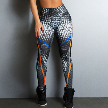 2018 frauen Mode Digitaldruck Kompression Yoga Fitness Workout Leggings