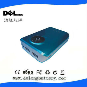 6600mah Rechargeable portable mobile power bank